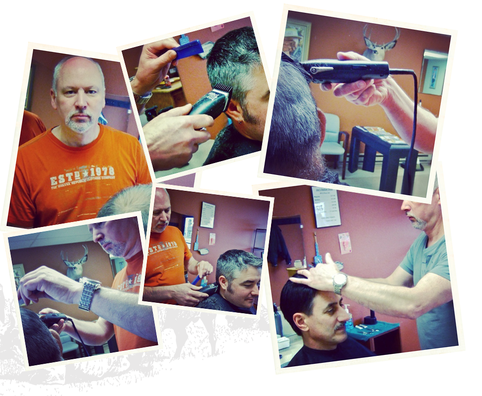 Jay's Gallery Montage of Haircuts